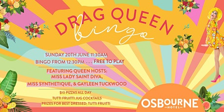 Drag Queen Bingo | Tutti Frutti tickets