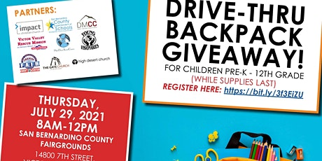 High Desert Backpack Giveaway tickets
