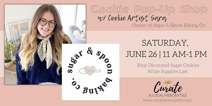 Cookie Pop-Up Shop w/ Sugar & Spoon Baking Co. image