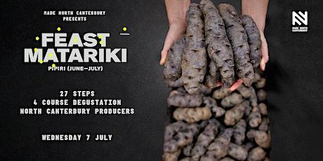 MADE NORTH CANTERBURY presents Feast Matariki - Twenty Seven Steps tickets