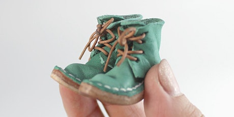 Miniature Leather Boot Making with Sarah Van Oosterom tickets
