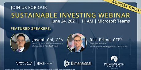 Sustainable Investing Webinar tickets