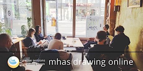 MHAS Drawing Session [#24 Secretarybird] Online+InPerson tickets