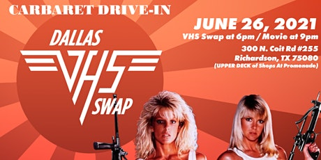 Dallas VHS Swap and Carbaret Drive-In  presents Savage Beach tickets