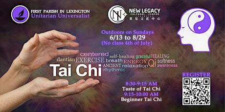 Outdoor Tai Chi @ First Parish tickets