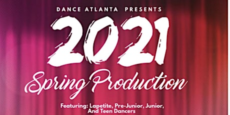 Spring Production 2021 tickets