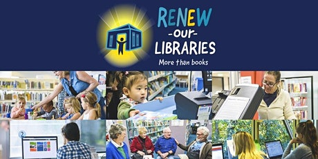 Renew Our Libraries - Special Briefing tickets