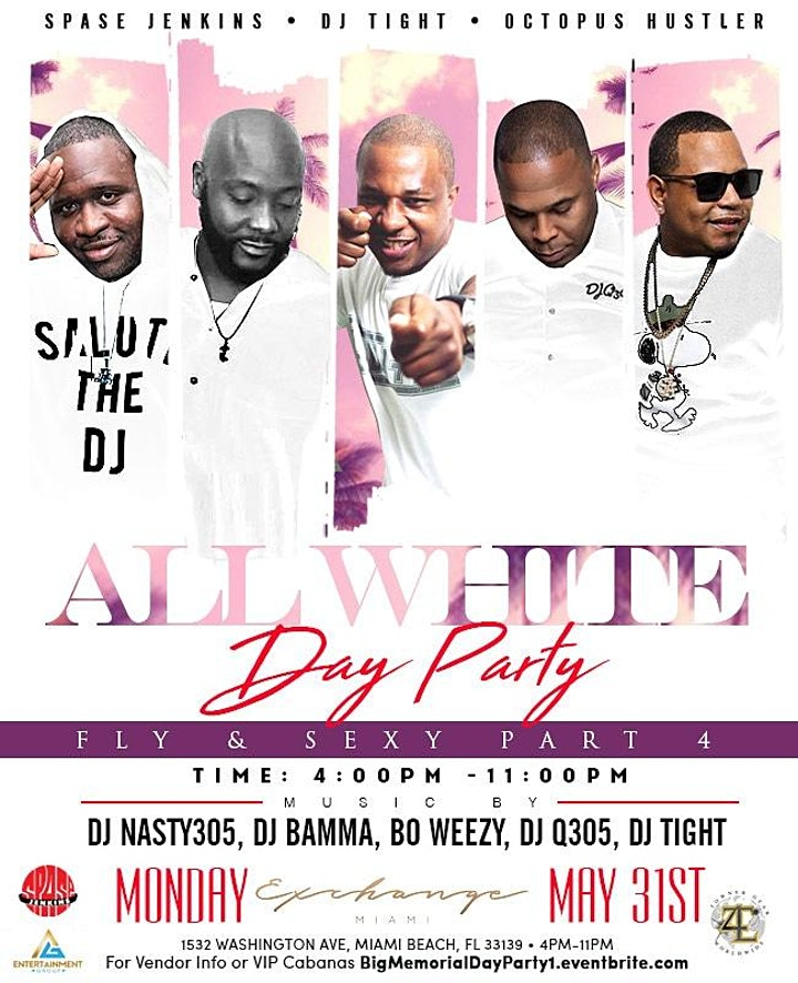 Memorial Day All White Party image