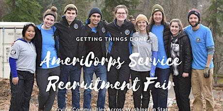 AmeriCorps Service Recruitment Fair tickets