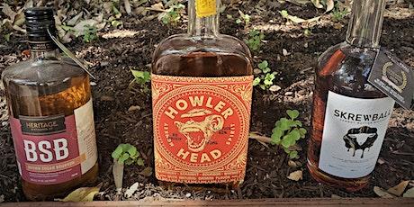 Virtual Whiskey Tasting of three flavored whiskies tickets
