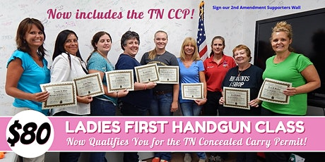 Ladies First Class with TN Concealed Carry Permit tickets