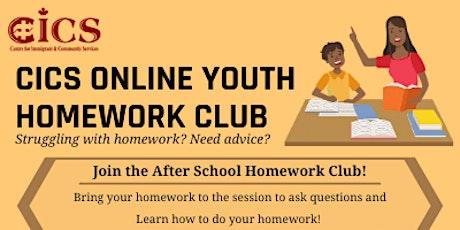 CICS Online Youth Homework Club biglietti