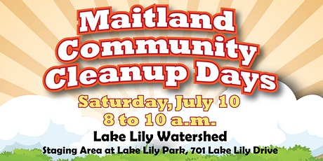 Maitland Community Cleanup Days - Lake Lily tickets