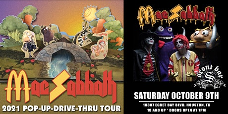 MAC SABBATH - 2021 Pop Up Drive Thur Tour tickets