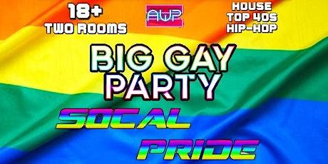 Big Gay Party So Cal PRIDE tickets