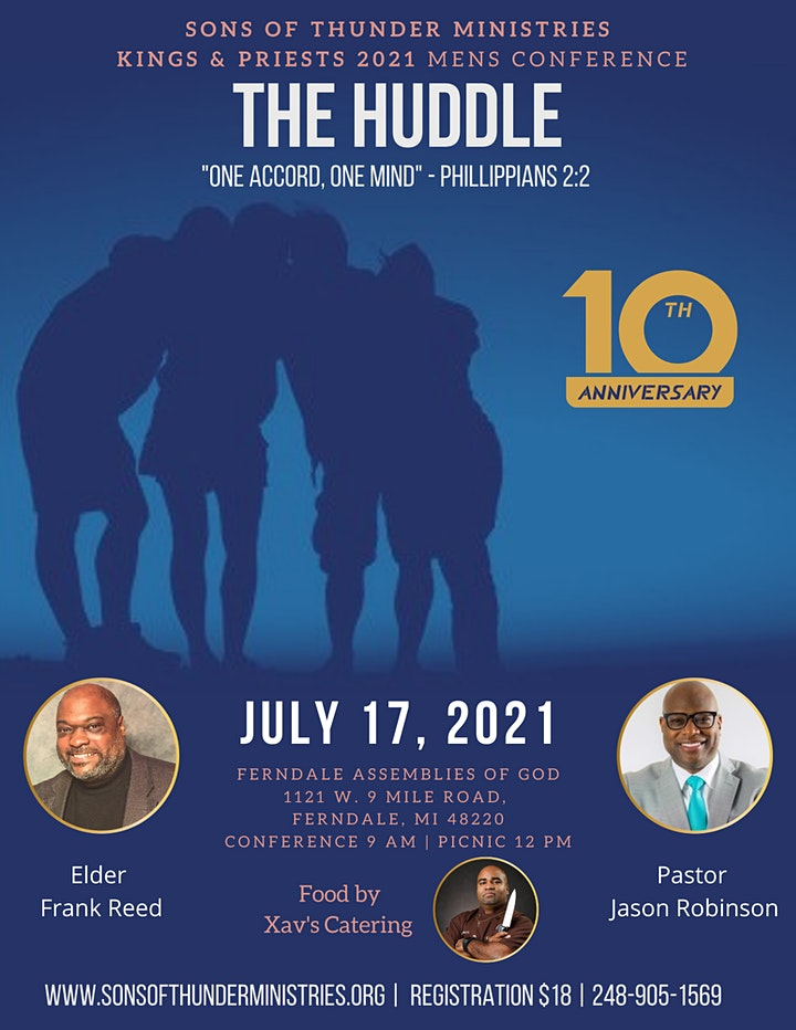"""Sons of Thunder, Kings and Priest 10th Annual Conference """"The Huddle"""" image"""