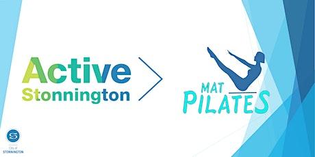 Mat Pilates (Wednesdays 6:00pm) tickets