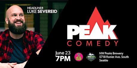 Peak Comedy at NW Peaks Brewery with Luke Severeid tickets