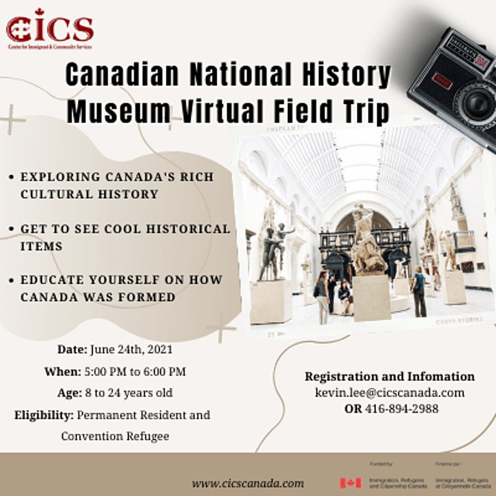 Canadian National History Museum Virtual Field Trip image