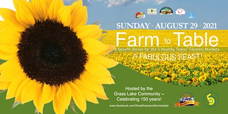 5 Healthy Towns Farm to Table Fabulous Feast! tickets