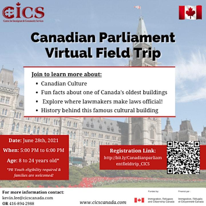 Canadian Parliament Virtual Field Trip image