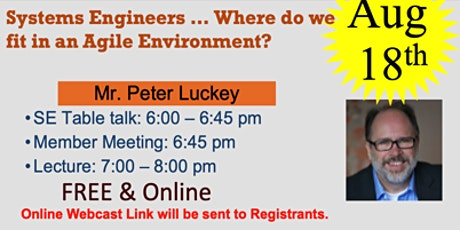 Systems Engineers ... Where do we fit in an Agile Environment? tickets