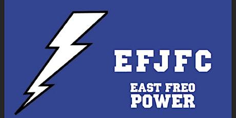 EFJFC REVERSE RAFFLE tickets