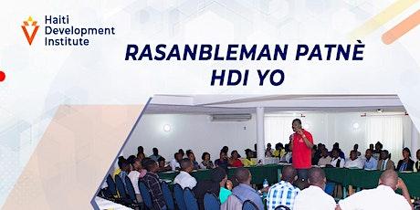 Rasanbleman Patnè HDI tickets