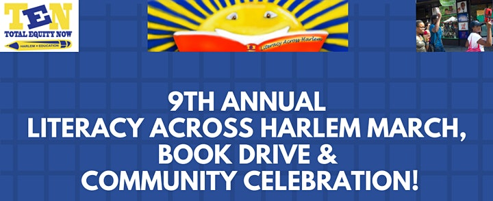 9th Annual Literacy Across Harlem March, Book Drive & Community Celebration image