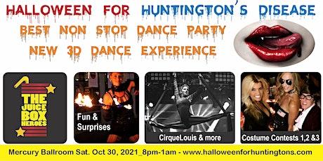 Halloween for Huntington's - Mercury Ballroom 3D Dance Party Oct 30, 2021 tickets