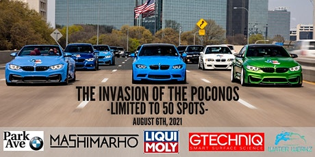 BMWINVASION: The Invasion of the Poconos Rally tickets