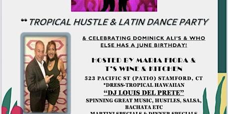 Tropical salsa hustle dance night Stamford ! tickets