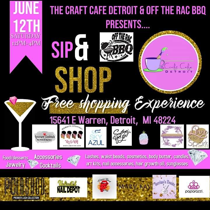 FREE SIP & SHOP image