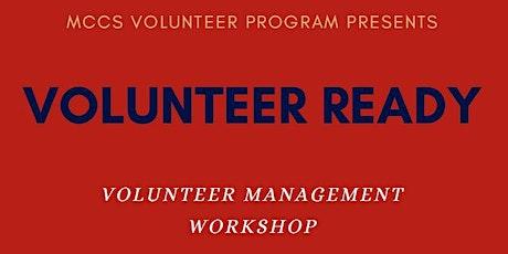 Volunteer Ready: Volunteer Management Training tickets