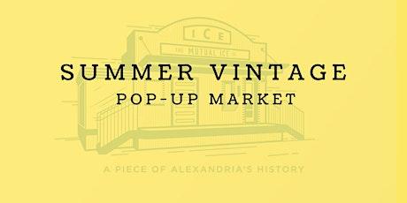 Summer Vintage Pop-Up Market tickets