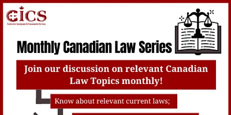 Monthly Canadian Law Series tickets