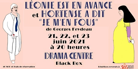 Soirée Feydeau : les 21,22,23 et 24 juin 2021 de 20h à 22h tickets