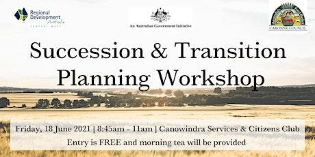 Succession & Transition Planning Workshop tickets