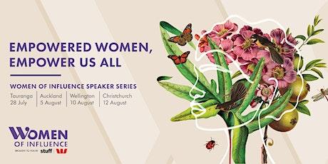 Women of Influence - Wellington Speaker Series tickets