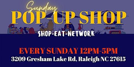 Sunday Pop-up Shop tickets