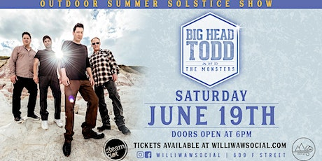 Big Head Todd & The Monsters - a Summer Solstice Outdoor Show tickets