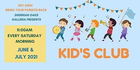 Free Summer Kids Club Event – July 24, 2021 (Megan, The Bubbleologist) tickets