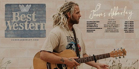 James Abberley ~ Broome tickets