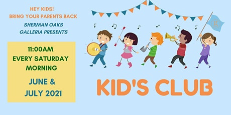 Free Summer Kids Club Event – July 31, 2021 (Arty Loon) tickets