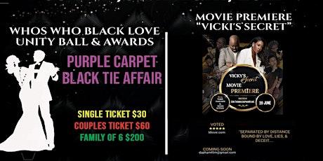 WHO'S WHO BLACK LOVE UNITY BALL & AWARDS tickets