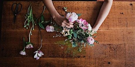 Flower Posy Arrangement Workshop tickets