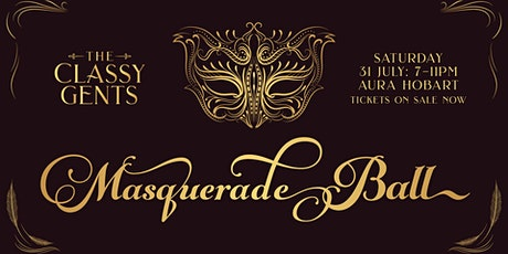 The Classy Gents Masqeurade Ball tickets
