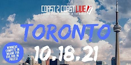 Coast 2 Coast LIVE Showcase Toronto - Artists Win $50K In Prizes tickets