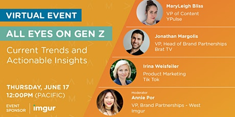 All Eyes on Gen Z: Current Trends and Actionable Insights tickets