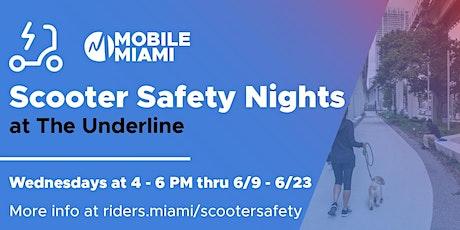 Scooter Safety Nights @ The Underline tickets